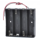 Buy 14.8V 4*18650 Battery Holder Case Box Leads - Black