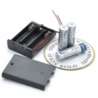 4.5V 3 x AA Battery Holder Case Box with Leads