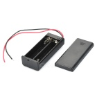 3V 2 x AAA Battery Holder Case Box with Leads