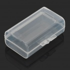 Protective Plastic Case for 9V / 2 x AA Battery - Transparent