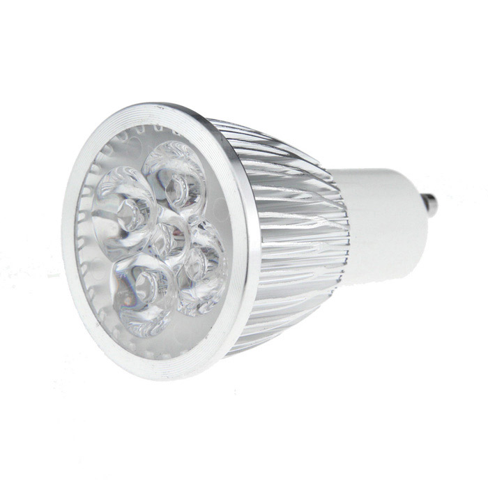 GU10 5W 3000K 500-Lumen 5-LED Warm White Light Bulb (AC 85~265V)