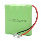 "Rechargeable 4.8V ""700mAh"" 4 * AAA Ni-MH Battery Pack"