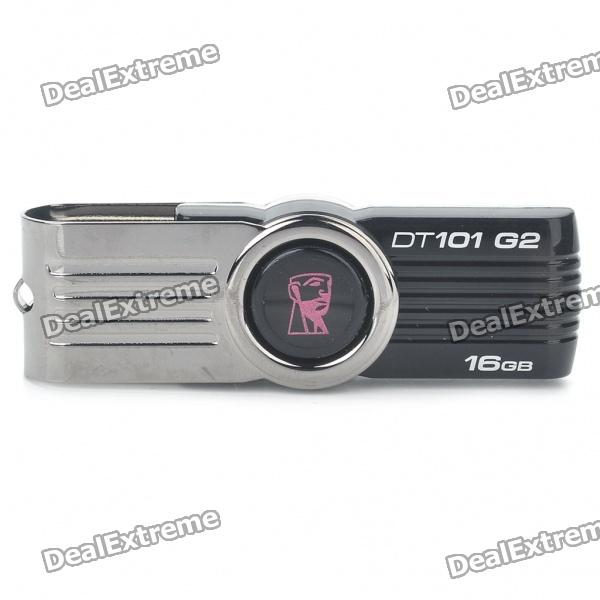 Genuine Kingston High Speed USB 2.0 Flash Drive - Black (16GB) от DX.com INT