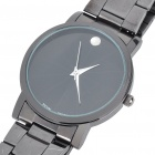 Stylish Steel Band Water Resistant Quartz Wrist Watch (1 x 377)