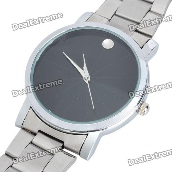 Stylish Steel Band Water Resistant Quartz Wrist Watch (1 x 377) stylish bracelet band quartz wrist watch golden silver 1 x 377