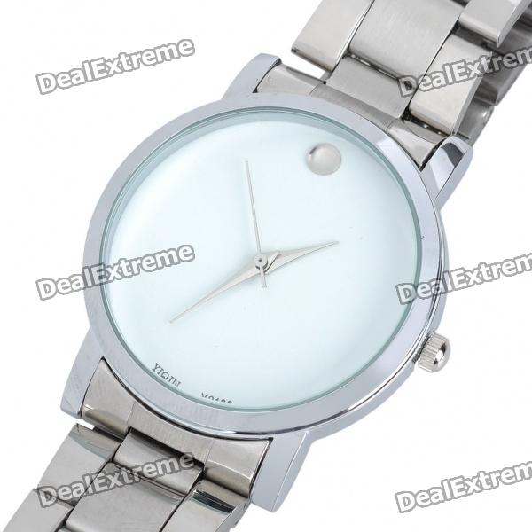 Stylish Steel Band Water Resistant Wrist Watch (1 x 377)