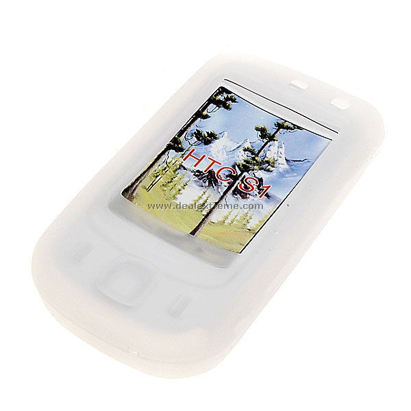 HTC S1 Slide-Open Silicone Case (White)