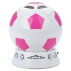 Creative Football Style Rechargeable MP3 Music Speaker Player with FM/SD Slot