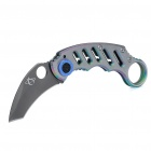 Portable Steel Folding Knife with Clip (54mm-Blade)