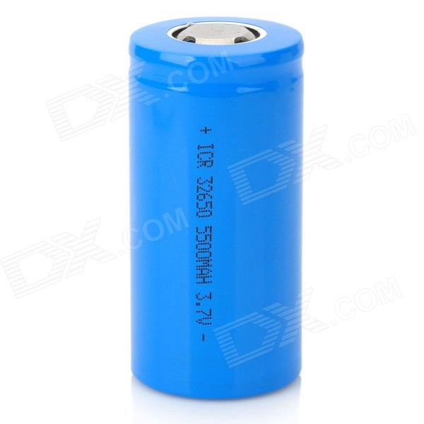 Rechargeable 3.7V 5500mAh 32650 Lithium Battery gtf 2pcs 16340 rechargeable lithium battery 2500mah lithium battery for torch flashlight 3 7v rechargeable lithium battery