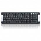 MC Saite 105-Key 2.4GHz Wireless Multimedia Keyboard w / Receiver (2 x AAA)