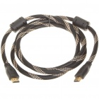 HDMI V1.3 1080P Male to Male Shielded Connection Cable (180CM-Length)