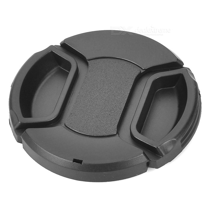 55mm Camera Lens Cap CoverLenses Accessories<br>- Material: Plastic- Diameter: 55mm- Protects your camera lens against scratches &amp; dust- Ergonomic design makes it easy to use with the lens hood- Comes with a strap<br>