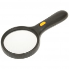 Handheld 2X Magnifier with 3-LED White Light (4 x AAA)