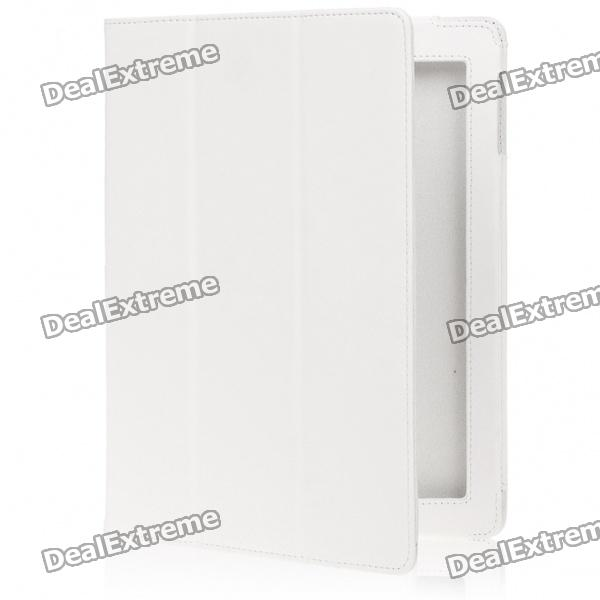 Style Protective PU Leather Case for Ipad 2 - White