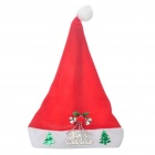 Christmas Hat mit Silver Bells & Christmas Tree Ornaments