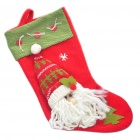 Santa Claus Christmas    Sock