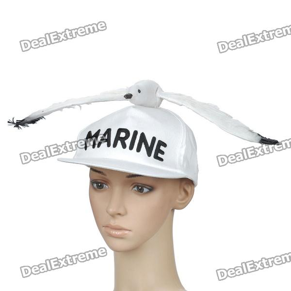 One Piece Admiral Sengoku Cosplay Party Hat/Cap - White