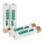 "Rechargeable 1.2V ""1000mAh"" Ni-MH AAA Batteries (4-Piece)"