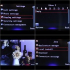 "Q5I 2.3"" LCD Screen Triple SIM 3-Network Standby Quadband Double TF Slots Cell Phone w/ TV - Blue"