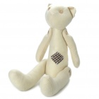 Buy Stylish Fabric Art Cartoon Bear Style Doll Toy - Light Beige (Posture Adjustable)