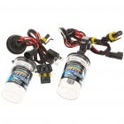 H4/H 35W 6000K 3200-Lumen White Light Xenon HID Headlamps (DC 9~16V/Pair)
