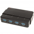 ORICO H4928-U3 USB 3.0 4-Port Hub - Black