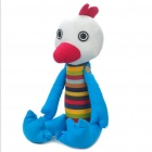 Stylish Fabric Art Chicken Style Doll Toy (Posture Adjustable)