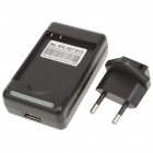 Battery Charging Station Cradle + EU Plug Adapter for HTC Wildfire S/G13/A510E/HD7