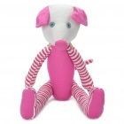 Stylish Fabric Art Mouse Style Doll Toy - Pink (Posture Adjustable)