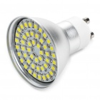 GU10 3.5W 48-SMD 3528 LED 195-Lumen 6000-6500K White LED Light Bulbs