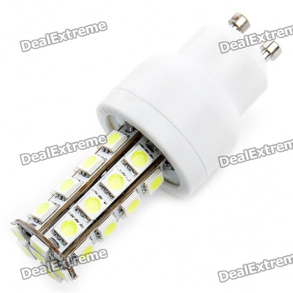GU10 5.5W 30-SMD 5050 LED 360-Lumen 6000-6500K White LED Light Bulbs