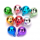 Colorful Zinc Alloy Pet Bells for Dog/Cat Collar (9-Pack/Random Color)
