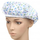 Flower Pattern Shower Cap - Random Color