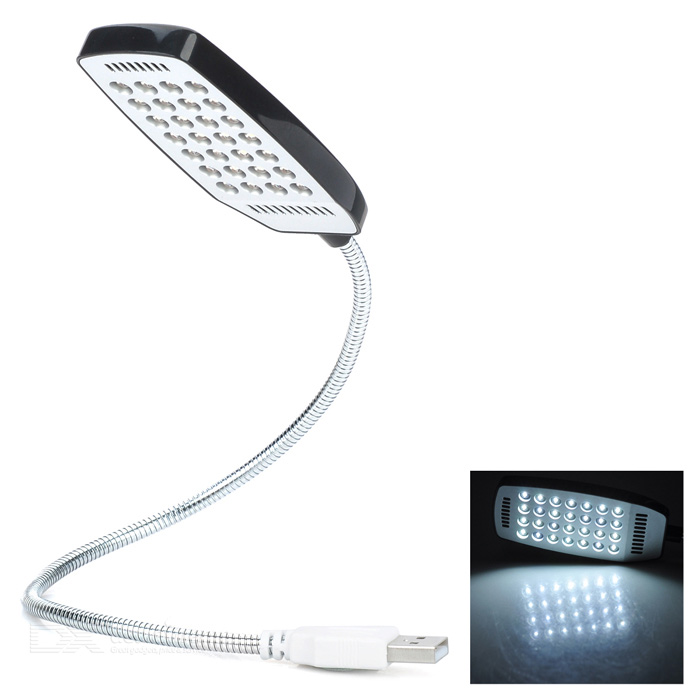 USB Powered Flexible Neck 28-LED White Light