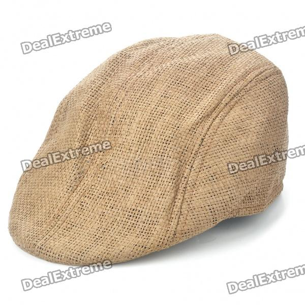 Vintage Cool Straw Woven Cap Hat