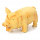 Stress Reliever Squeeze Pig Toy with Realistic Sound Effect - Random Color