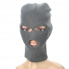 Outdoor Sports Warm Knit Balaclava Face Mask - Grey