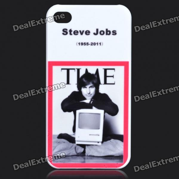 Remembering Steve Jobs Protective ABS Back Case for iPhone 4