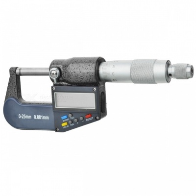 Precision Digital Micrometer (0.001mm Resolution / 0mm~25mm)