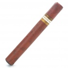 Electronic Rechargeable Cigar with Refills - Brown (100~240V)