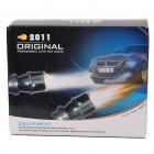 55W 3000K 1200-Lumen Yellow Light Car Halogen H3 Fog Lamp Bulbs (DC 12V/Pair)