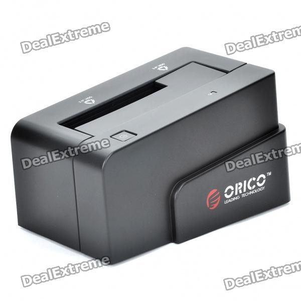 "ORICO USB 3.0 + ESATA 2.5""/3.5"" SATA HDD Docking Station - Black"