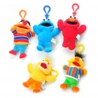 Buy Cute Sesame Street Characters Plush Dolls Clip On Toys (Set of 5)
