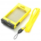 Creative Unique Camera Style Protective Case for Iphone 4 - Yellow + Black