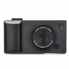 Creative Unique Camera Style Protective Case for Iphone 4 - Black