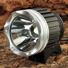 "XML-T6 ""1050LM"" 3-Mode White LED Bicycle Bike Light (4 x 18650)"