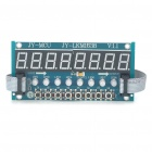 JY-MCU 8X Red Light Digital Tube + 8X Key + 8X Double Color LED Module