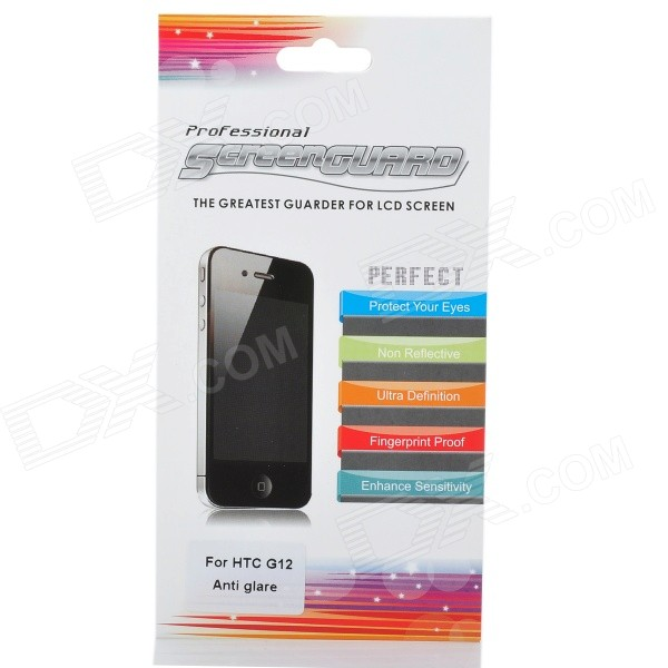 Matte Screen Protector/Guards with Cleaning Cloth for HTC G12 matte screen protector guards with cleaning cloth for htc g10