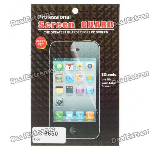 Screen Protector / Guards mit Reinigungstuch für Huawei C8650/M865/C8600